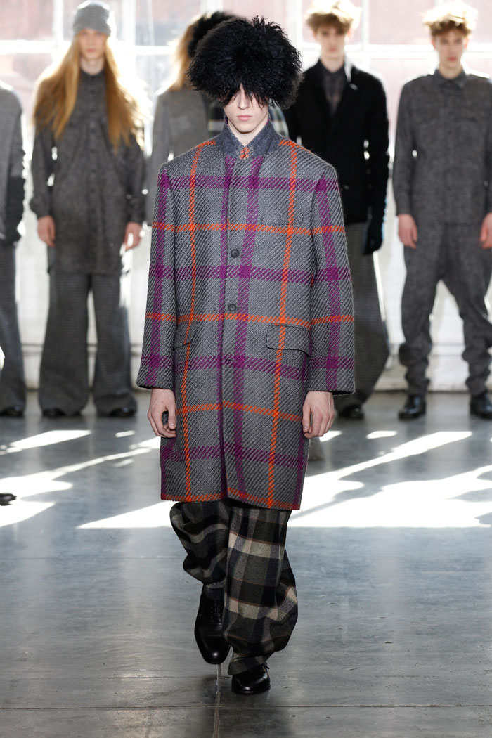 new york: duckie brown a/w 2012 collection