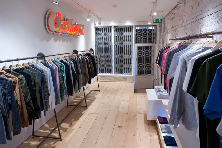 london: carhartt store opening