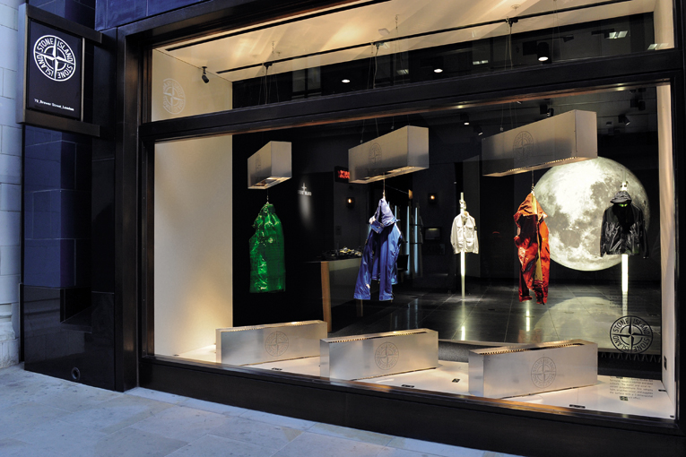 london: stone island flagship store relocation