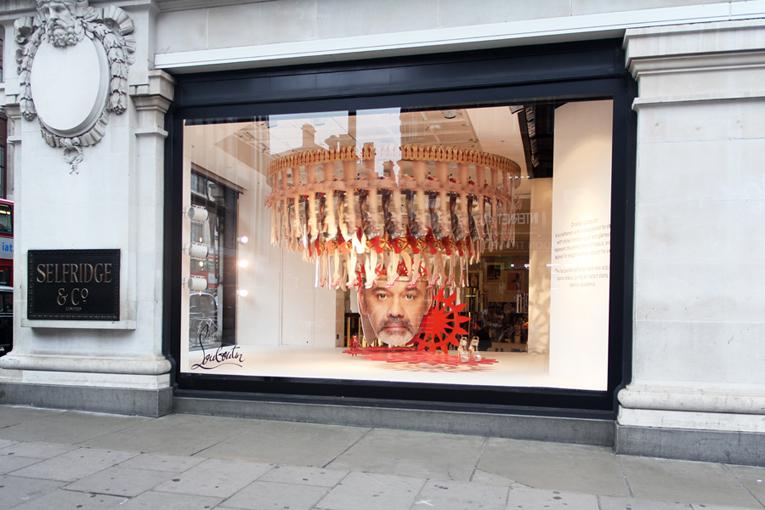 superfuture :: supernews :: london: christian louboutin windows at ...
