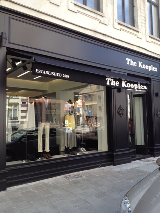 brussels: the kooples store opening