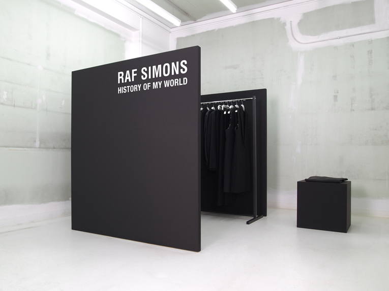 athens: raf simons - history of my world