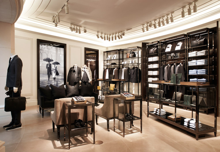 superfuture :: supernews :: london: burberry men's store ...