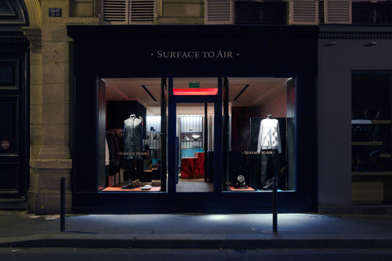 paris: surface to air store opening