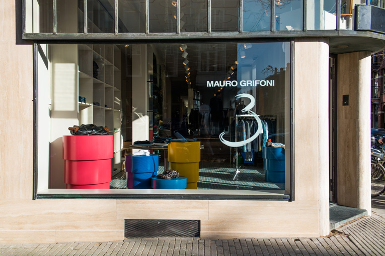 amsterdam: mauro grifoni store opening