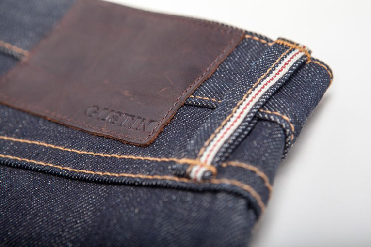 online: gustin selvedge denim