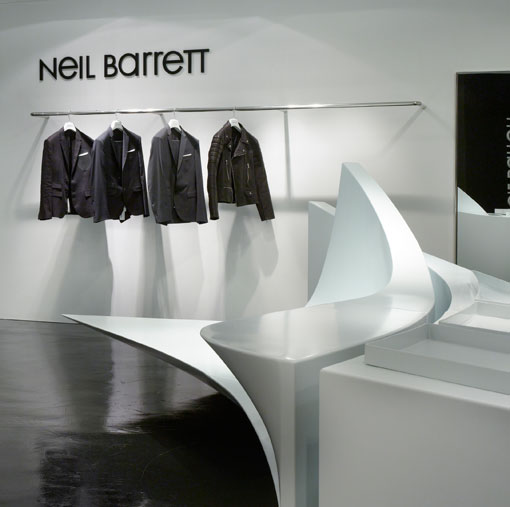 seoul: neil barrett shop-in-shop opening
