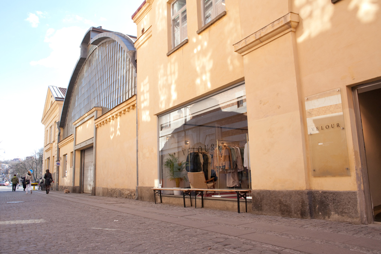 gothenburg: velour store renewal