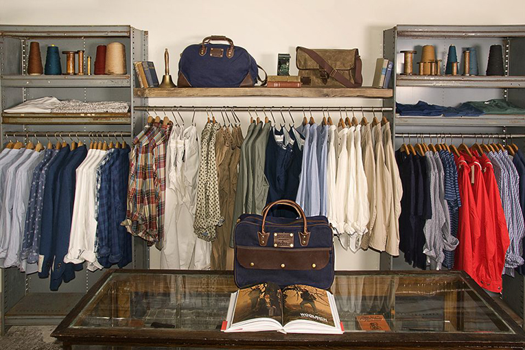 new york: woolrich shop-in-shop opening