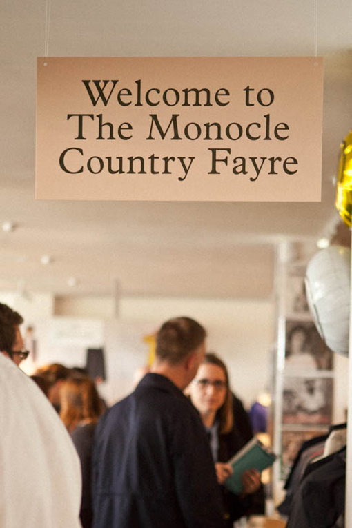 london: the monocle country fayre