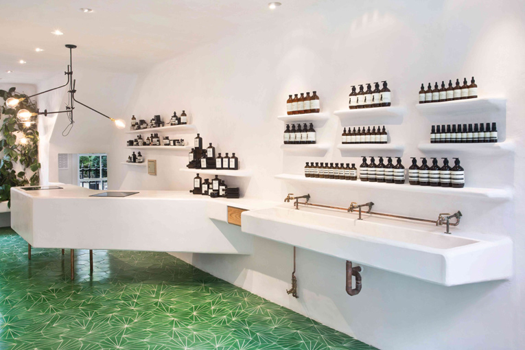 london: aesop store opening