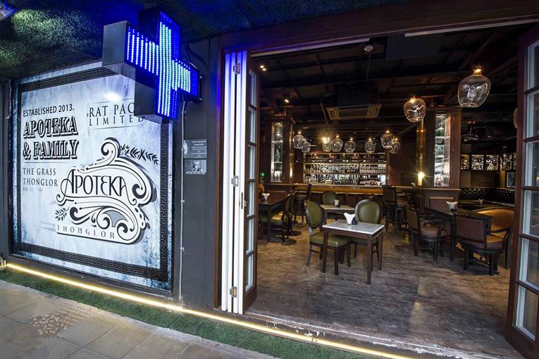 bangkok: apoteka thonglor bar opening