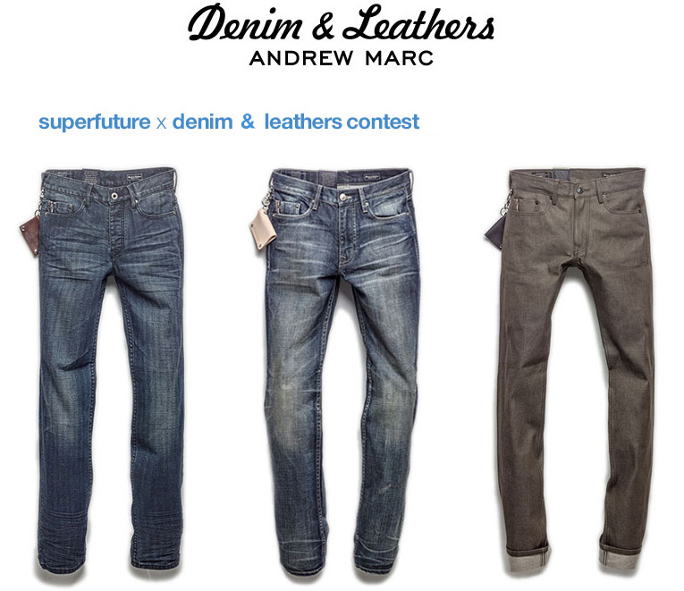 online: Denim & Leathers contest