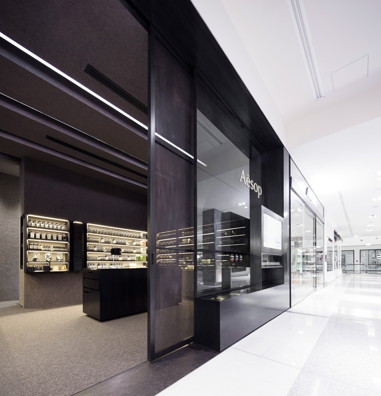 canberra: aesop store opening