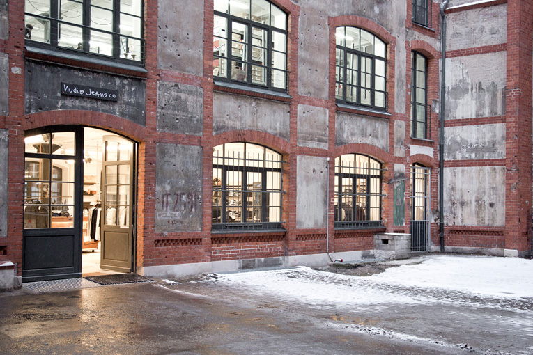 berlin: nudie jeans repair shop opening