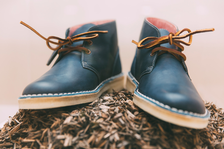 amsterdam: clarks originals x herschel desert boot launch