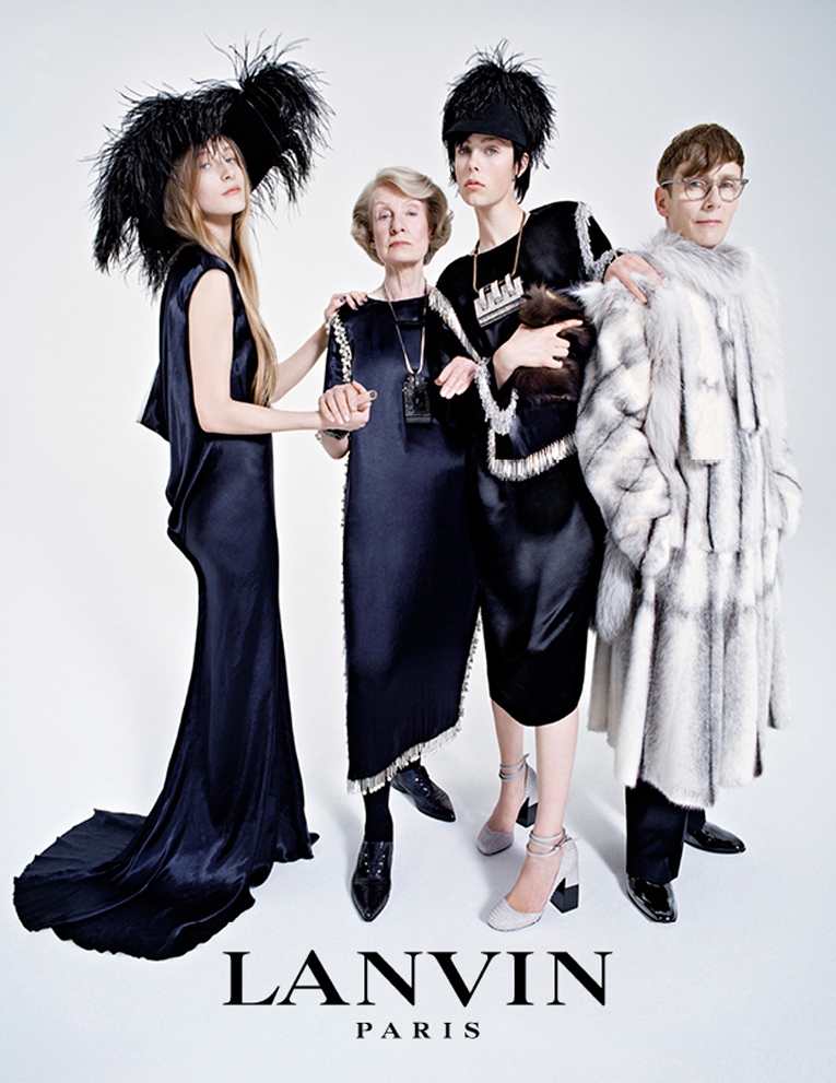 global: lanvin winter 2014 ad campaign