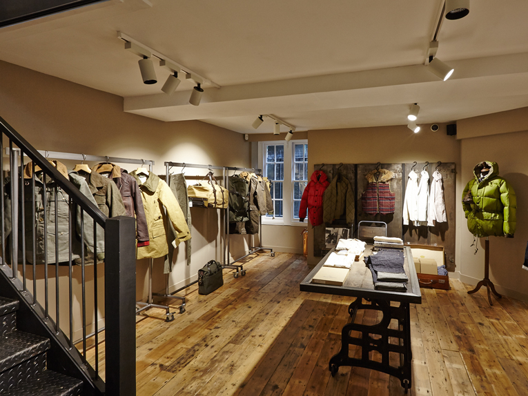 ae04c0ad595f6d superfuture    supernews    london  nigel cabourn - the army gym opening