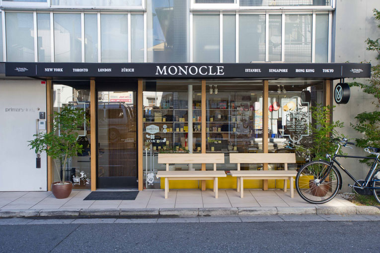 tokyo: the monocle shop opening