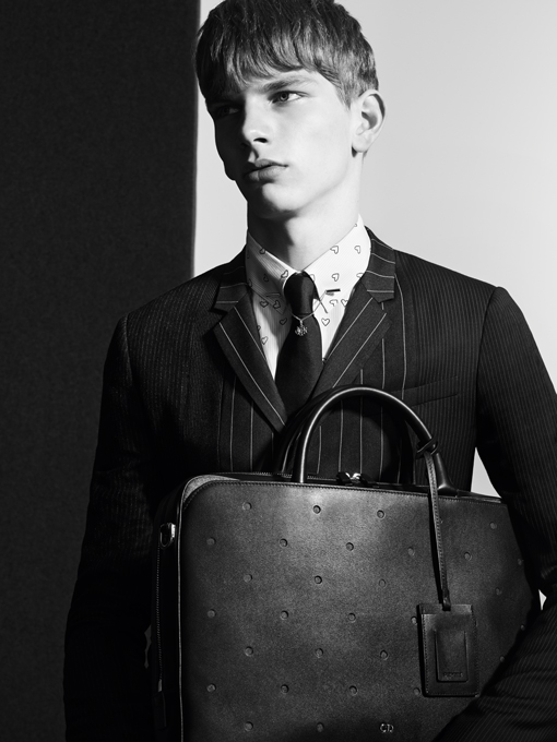 global: dior homme a/w 2014 - leather goods