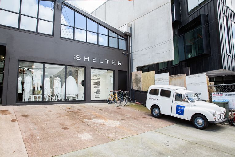 auckland: the shelter opening