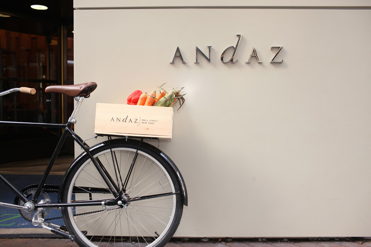 new york: dina rata at andaz hotel wall street