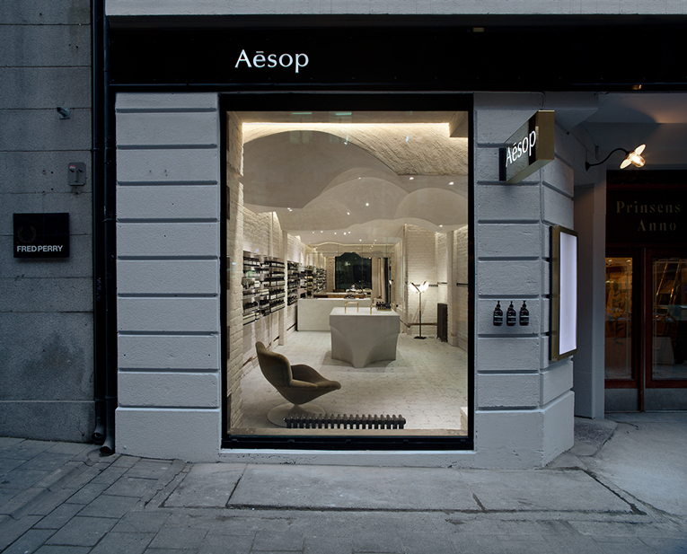 oslo: aesop store opening