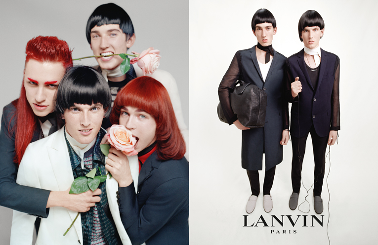 global: lanvin summer 2015 ad campaign