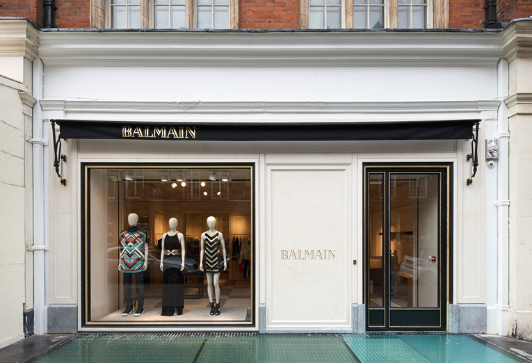 35eb39874be superfuture :: supernews :: london: balmain store opening