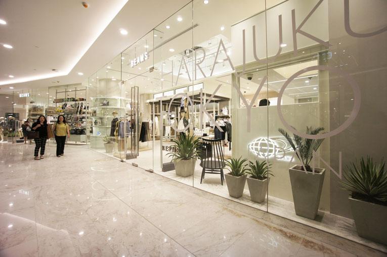 bangkok: beams store opening