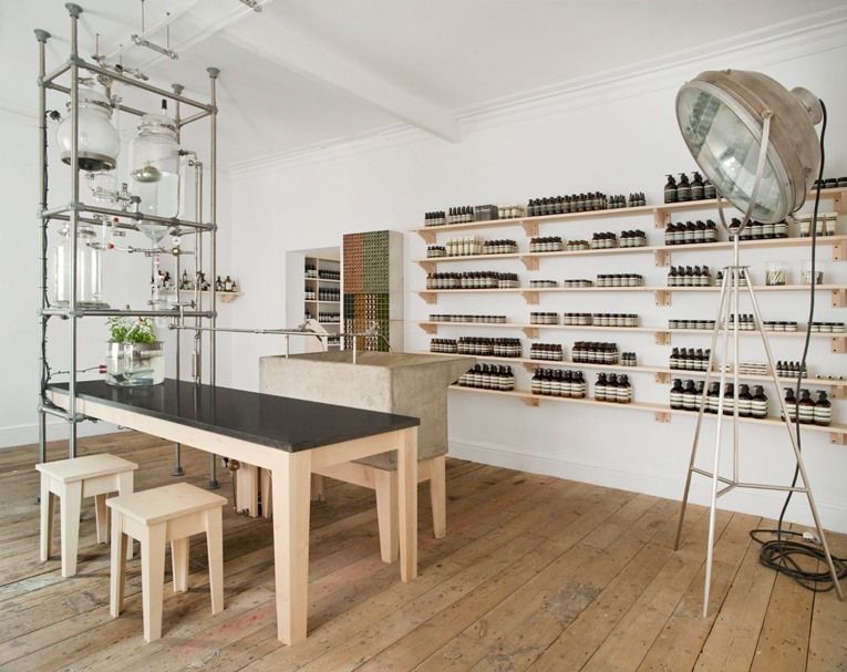 nottingham: aesop shop-in-shop opening