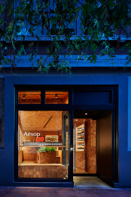 vancouver: aesop store opening