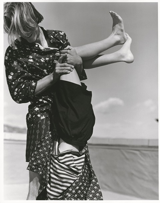new york: a 'present' to agnès b. from bruce weber