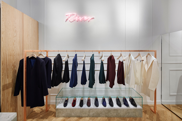 paris: rives store opening