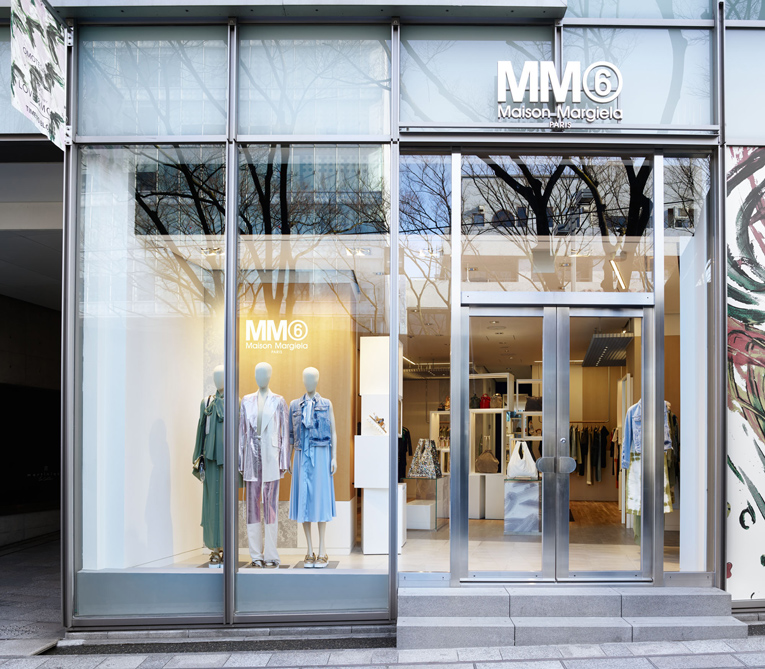 tokyo: mm6 store opening