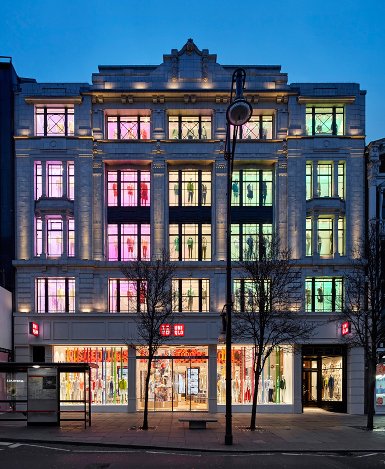 london: uniqlo flagship store renewal