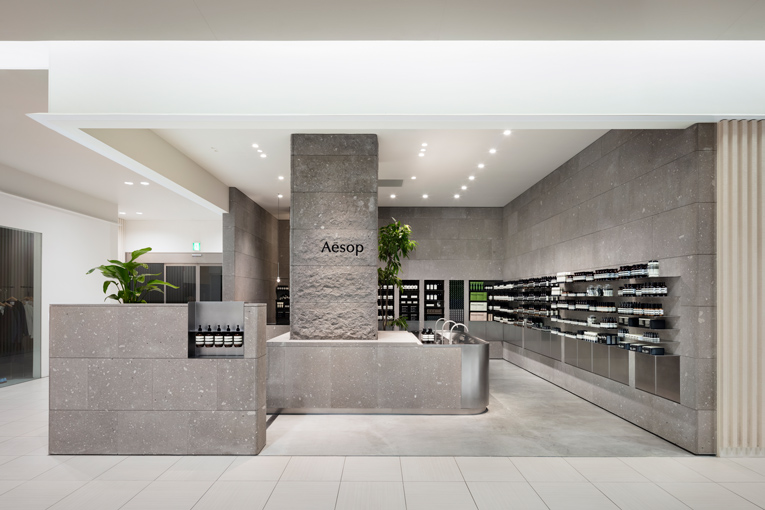 sapporo: aesop store opening