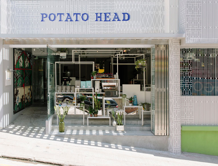 hong kong: potato head opening