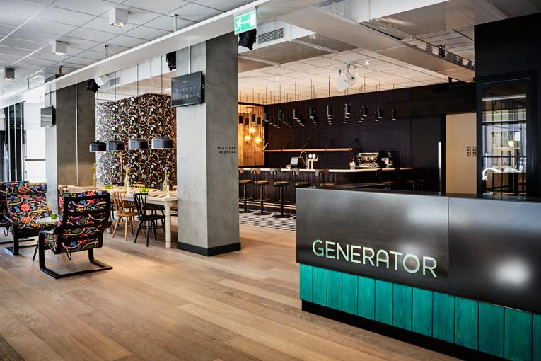 stockholm: generator hostel opening