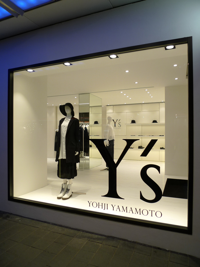 hong kong: y's store opening
