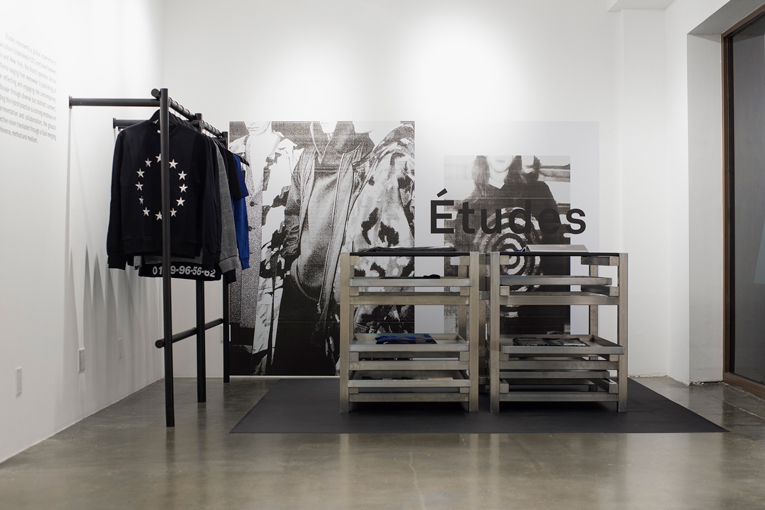 los angeles: études studio pop-up store