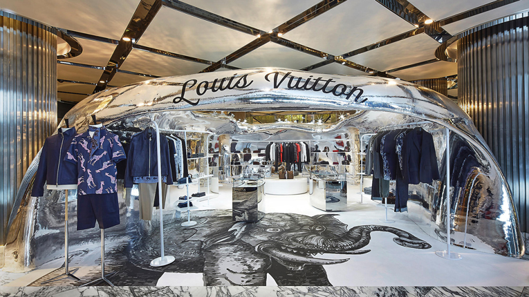 sydney: louis vuitton pop-up store