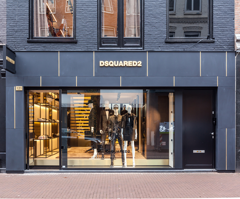 amsterdam: dsquared2 store opening