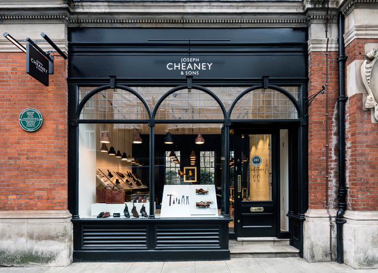 london: cheaney store opening