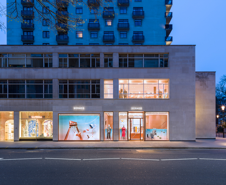 london: hermès store relocation
