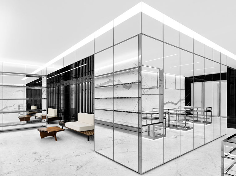 tokyo: saint laurent flagship store opening