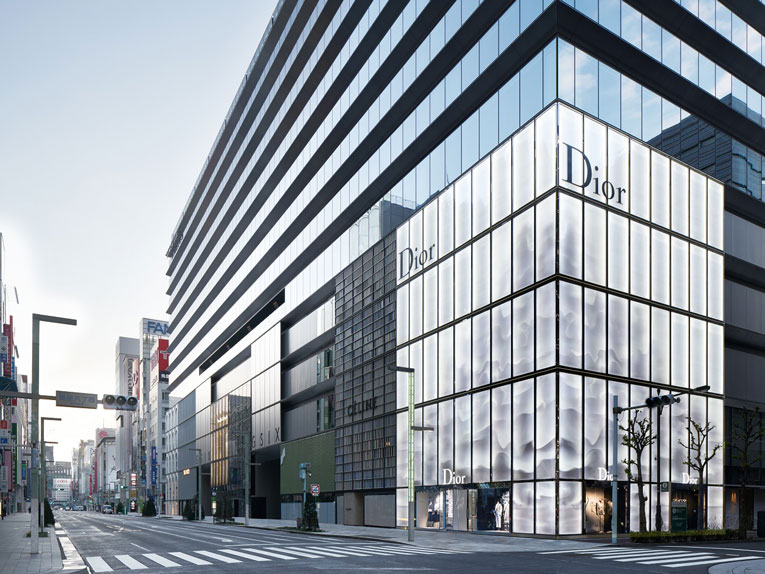 tokyo: dior + dior homme flagship store opening