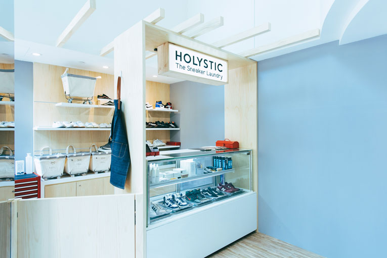 singapore: holystic sneaker laundry opening