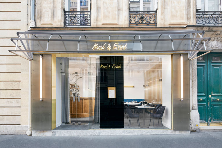 paris: karl & erick restaurant renewal