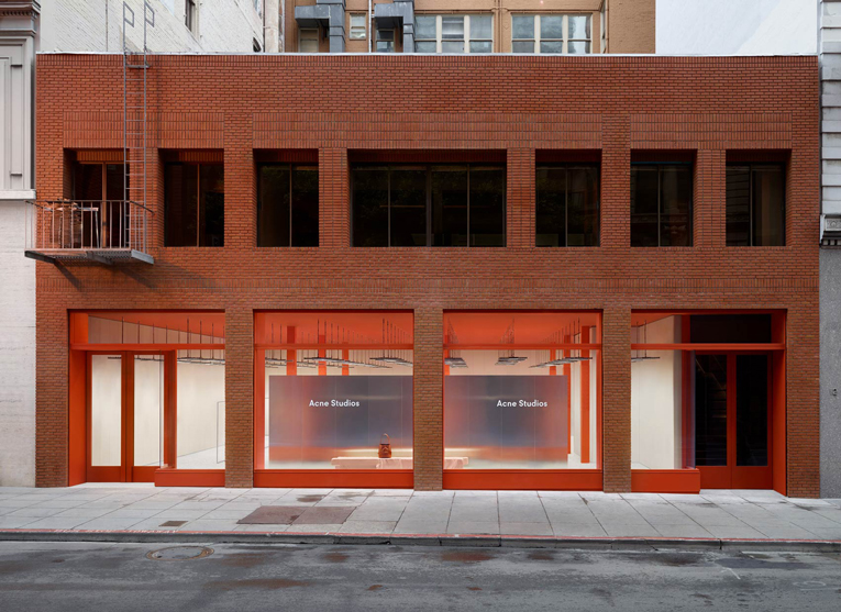 san francisco: acne studios opening